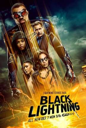Raio Negro - Black Lightning 3ª Temporada Legendada