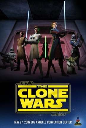 Star Wars - The Clone Wars  - 3ª Temporada Completa